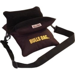 """Bulls Bag Field Blk Poly Bag W/Carry Strap 10"""" - 10"""" Field Bad With Carry Strap, Black"""
