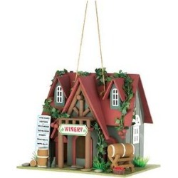 Zingz & Thingz Cottage Winery Bird House found on Bargain Bro from Chewy.com for USD $25.83