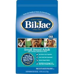 Bil-Jac Small Breed Adult Chicken, Oatmeal & Yams Recipe Dry Dog Food, 6-lb bag found on Bargain Bro Philippines from Chewy.com for $18.99
