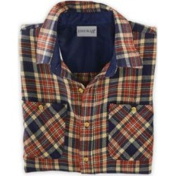 John Blair Men's John Signature Flannel Shirt, Blue, Size L R found on Bargain Bro India from Blair.com for $12.77