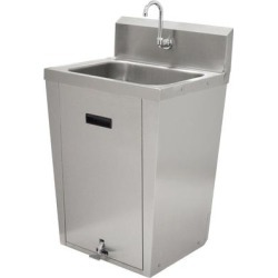 Advance Tabco 7-PS-86 Hands Free Hand Sink with Pedestal Base