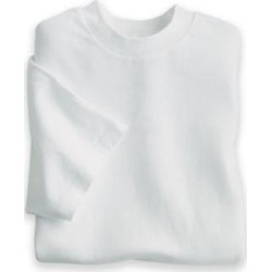 Men's John Blair Crewneck, White, Size 2XL found on Bargain Bro Philippines from Blair.com for $20.79