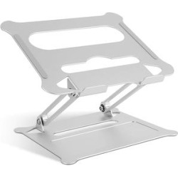 iMounTEK Silver - Aluminum Adjustable Laptop Z Stand found on Bargain Bro Philippines from zulily.com for $34.99