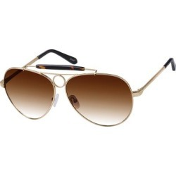 Zenni Men's Sunglasses Gold Metal Frame found on Bargain Bro Philippines from Zenni Optical for $27.95
