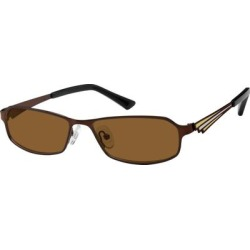 Zenni Men's Sunglasses Brown Stainless Steel Frame found on Bargain Bro India from Zenni Optical for $24.95