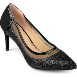 Journee Collection Women's Kalani Heels - Black found on Bargain Bro India from macys.com for $69.00