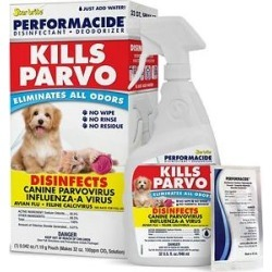 Performacide Kills Parvo Disinfectant & Deodorizer Kit, 32-oz bottle found on Bargain Bro India from Chewy.com for $19.98