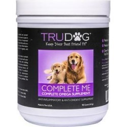 TruDog Complete Me Omega 7 Multi-Vitamin Soft Chew Dog Treats, 90 count found on Bargain Bro Philippines from Chewy.com for $76.99