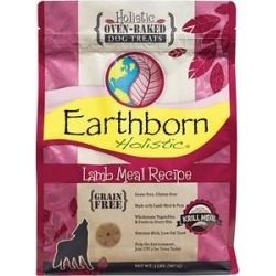 Earthborn Holistic Grain-Free Lamb Meal Recipe Dog Treats, 2-lb bag found on Bargain Bro from Chewy.com for USD $8.35