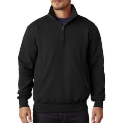 Champion S400 Adult 9 oz. Double Dry Eco Quarter-Zip Pullover Jacket in Black size 2XL   Cotton Polyester found on MODAPINS from ShirtSpace for USD $28.21
