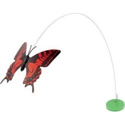 Pet Zone Fly By Replacement Butterfly Cat Toy found on Bargain Bro India from Chewy.com for $4.99