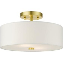 Livex Lighting Meridian 2 Light Semi Flush Mount - 51053-12 found on Bargain Bro India from Capitol Lighting for $104.90