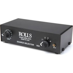 Rolls 4 Channel Source Selector found on Bargain Bro India from Crutchfield for $99.00