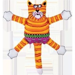 Fat Cat Terrible Nasty Scaries Dog Toy, Color Varies