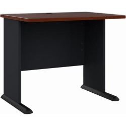 Series A 36W Desk in Hansen Cherry & Galaxy - Bush Furniture WC90436A found on Bargain Bro India from totally furniture for $165.99