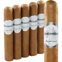 Macanudo Inspirado White Robusto Connecticut - PACK (5) found on Bargain Bro India from thompsoncigar.com for $32.45
