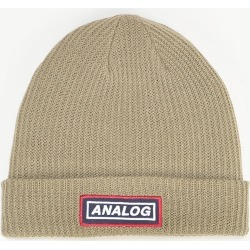 Analog Cuff Beanie - Twill (One Size Only) found on MODAPINS from Route One for USD $19.32