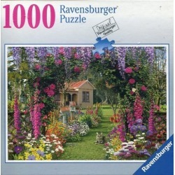Ravensburger Cottage Garden 1000 Piece Jigsaw Puzzle