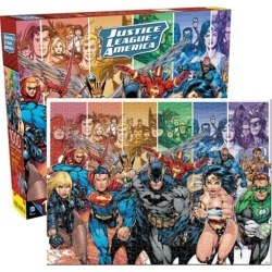Aquarius DC Comics Justice League of America 1000 Piece Jigsaw Puzzle found on Bargain Bro India from MassGenie for $29.88