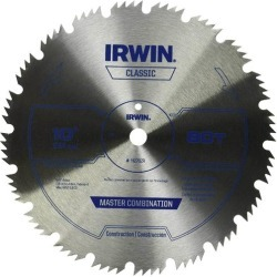 "Irwin 11270zr Circular Saw Blade 10"" X 80 Teeth, Steel"