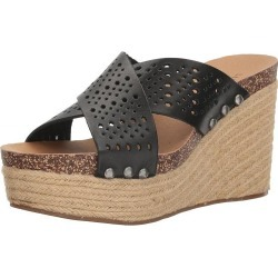 Lucky Brand Womens LK-NEEKA2 Leather Open Toe Casual Espadrille Sandals