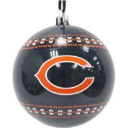 Chicago Bears NFL Ugly Sweater Ornament