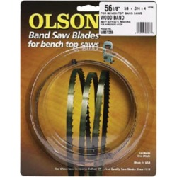 Olson Saw 12582 6 TPI Band Saw Blade, 0.25 Wide x 82 Long in.