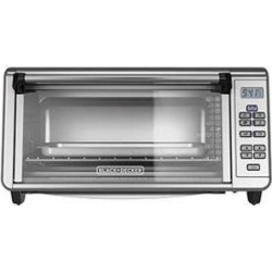 Applica To3290Xsd Bd Cabinet 8Slice Toaster Oven