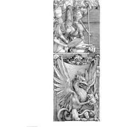 The Triumphal Arch of Emperor Maximilian I detail of pillar Poster Print by Albrecht Durer found on Bargain Bro India from MassGenie for $55.81