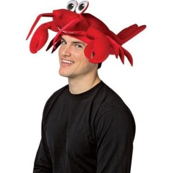 Lobster Hat Costume Halloween Hat Gift Red Accessory Cap Funny Novelty Humor