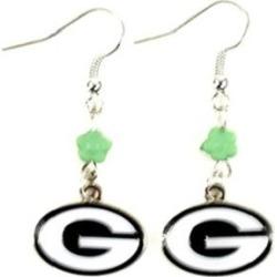 Green Bay Packers NFL Sophie Style Dangle Earrings