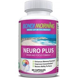 Bondi Morning Neuro Plus Brain Function Support. Promotes Focus, Clarity, Energy & Alertness. Nootropic Pills for Optimal Performance. Advanced.