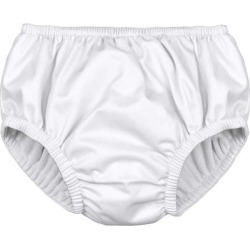 i play. Baby Pull-up Reusable Absorbent Swim Diaper, White, Size 24 Months