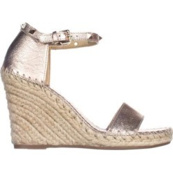 Marc Fisher Womens Kicker Leather Open Toe Casual Espadrille Sandals