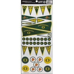 Sps4067 sports solution pennant sticker oregon