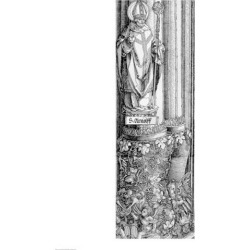 The Triumphal Arch of Emperor Maximilian I of Germany Detail of column Poster Print by Albrecht Durer found on Bargain Bro India from MassGenie for $27.91