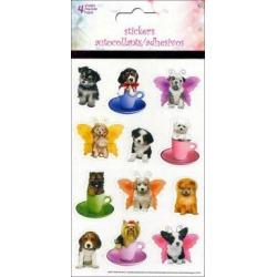 Sanst1545 sandylion sticker kimberlin puppies