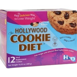 Hollywood Diet Miracle Products Hollywood Cookie Diet Meal Replacement Cookie Oatmeal - 12 Cookies diet plans Diet Plans 72bc134f9766e617029464836bd602c041af6102
