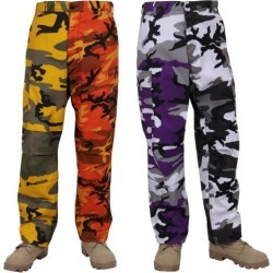 447fbdb9746 Military Camouflage Bdu Cargo Pants Army Fatigue Tactical Combat ...