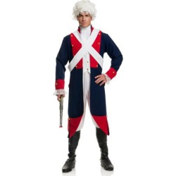 Revolutionary Soldier Mens Halloween Costume