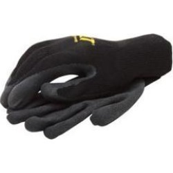 Cat merchandise cat017400l latex coated palm poly cotton knit gloves - large found on Bargain Bro India from MassGenie for $6.62