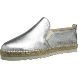 Nine West Womens Noney Leather Closed Toe Espadrille Flats
