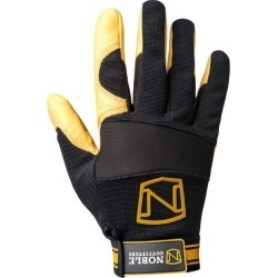Noble Outfitters Gloves Mens Womens Work MaxVent Black Tan 51011