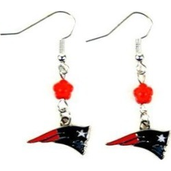 New England Patriots NFL Sophie Style Dangle Earrings