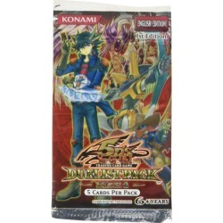 YuGiOh Trading Card Game 5D's Duelist Pack Yusei Fudo Booster Pack [Toy]