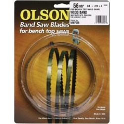 Olson Saw 19293 4 TPI, Band Saw Blade - 0.37 Wide x 93.50 Long in.