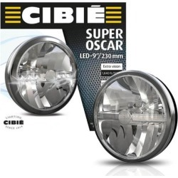 NEW BLACK & CHROME CIBIE SUPER OSCAR 9