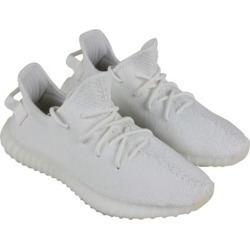 Adidas Yeezy Boost 350 V2 Mens White Textile Athletic Lace Up Training Shoes found on MODAPINS from MassGenie for USD $279.73