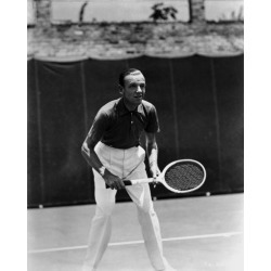 DEALS Fred Astaire Playing Tennis in Ready Position Photo Print