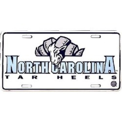 North Carolina Tar Heels NCAA License Plate